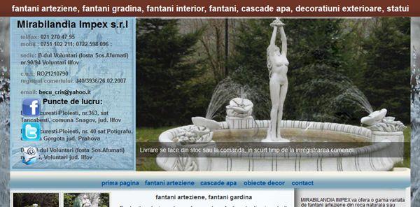 fantani-arteziene-cascade-statui